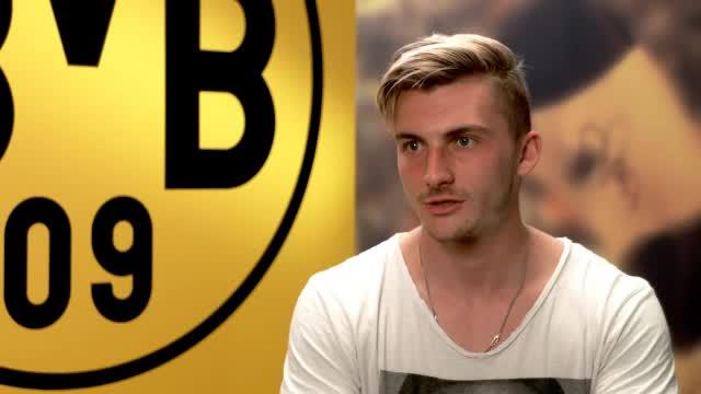 """Philipp beim BVB: """"Ehre, hier spielen zu dürfen"""""""