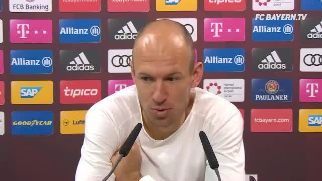 """Robben: """"Glücklich, dass ich verlängert habe"""""""
