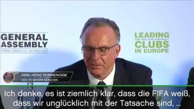 WM 2026: Rummenigge: Entscheidung inakzeptabel
