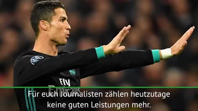 Ronaldo genervt: Googelt meinen Namen!