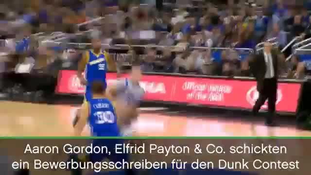 Gordon, Payton & Co. sorgen für Dunk-Show
