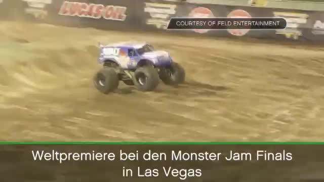 Monster Truck: Erster Front-Flip der Geschichte!