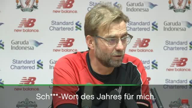 Jürgen Klopp: Meister der Pressekonferenzen