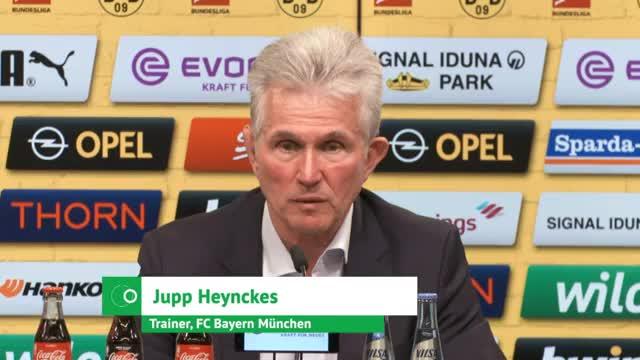 """Heynckes' Ziel: """"Rotieren auf hohem Niveau"""""""