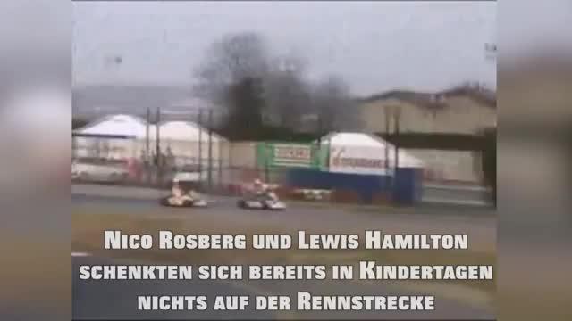 F1: Rosberg vs. Hamilton schon in Kindertagen