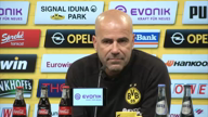 "Bosz vor RB Leipzig: ""Hoffe, es bleibt ruhig"""