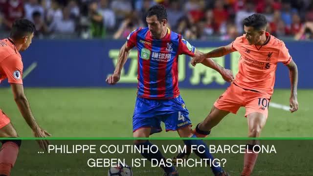 """Klopp: """"Coutinho steht nicht zum Verkauf"""""""