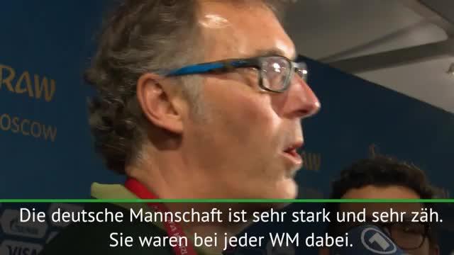 """Blanc: """"Deutschland einer der WM-Favoriten"""""""
