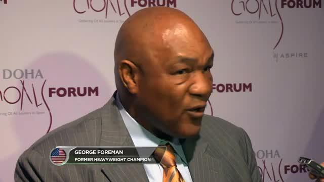 """Boxen: Foreman: """"Ali war ein Held!"""""""