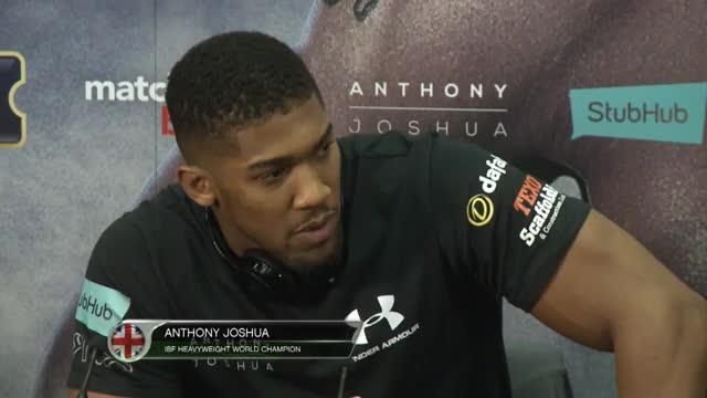 Boxen: Joshua: Vom Champion zur Legende werden