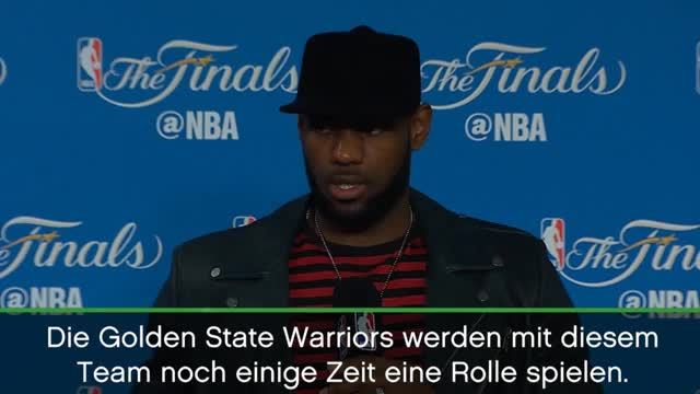 LeBron James prophezeit lange Warriors-Dominanz