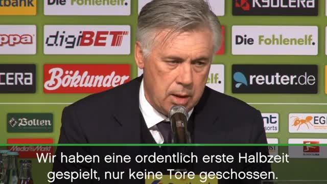 """Ancelotti: """"Gladbach stärker als erwartet"""""""