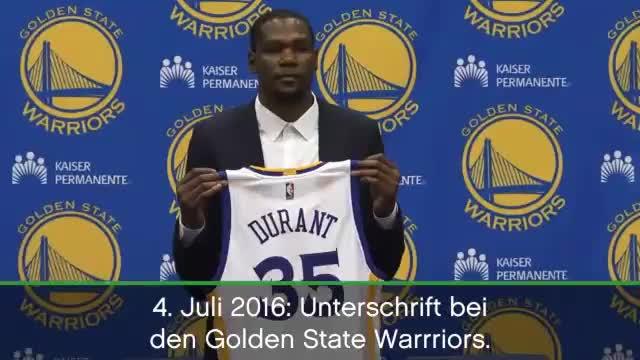 Final-MVP Durant: Eine Traum-Saison mit Happy End