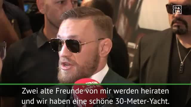 McGregor will mit WBC-Gürtel nach Ibiza