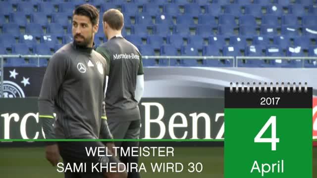 Born This Day: Sami Khedira wird 30
