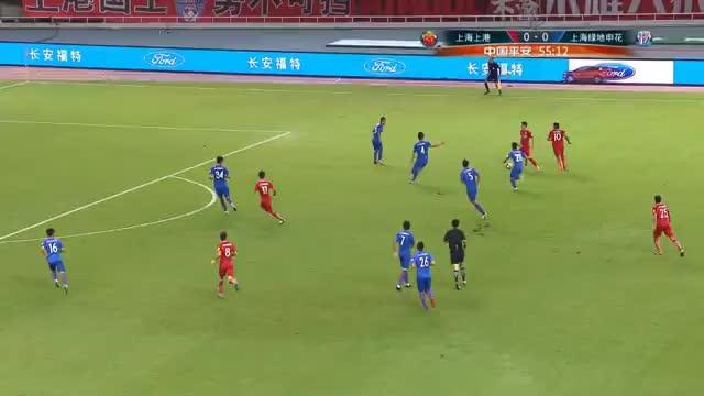 Shanghai-Derby: Fünf Tore in sieben Minuten
