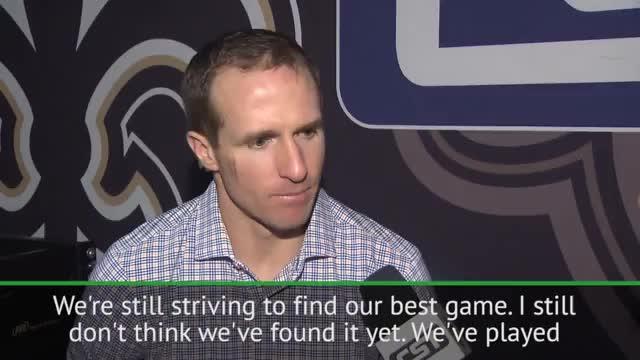 """NFL: Brees: """"Wir können noch besser spielen"""""""