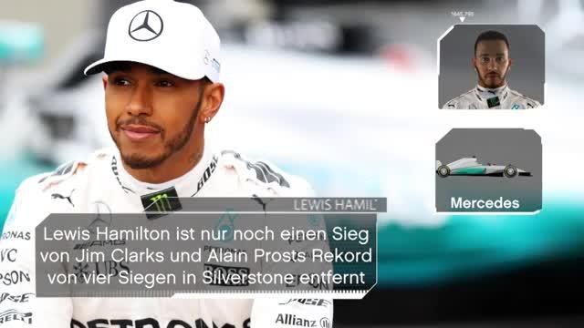 F1: Die Rennvorschau für den GP von Silverstone