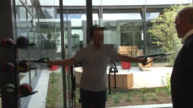 """FCB-Campus: """"Tiger"""" lässt die Muskeln spielen"""