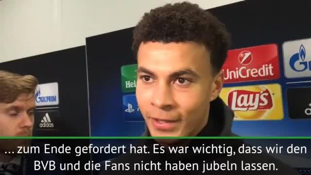 """Spurs-Star Alli: """"Fans in Dortmund unglaublich"""""""