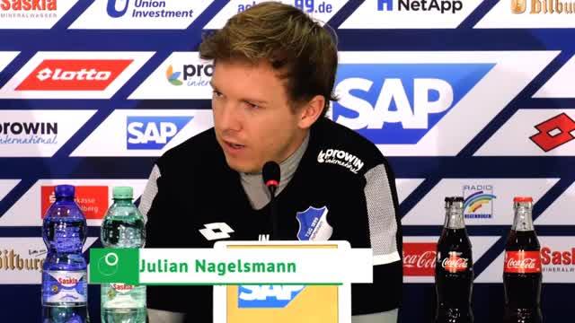 """Nagelsmann schwärmt: """"Frankfurt positiv eklig"""""""