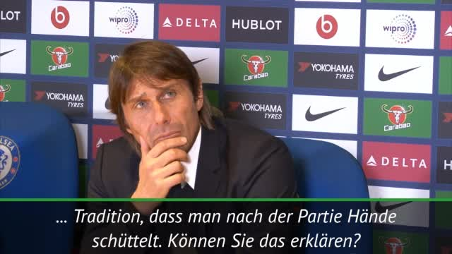 Deshalb ließ Conte Handshake mit Mourinho aus