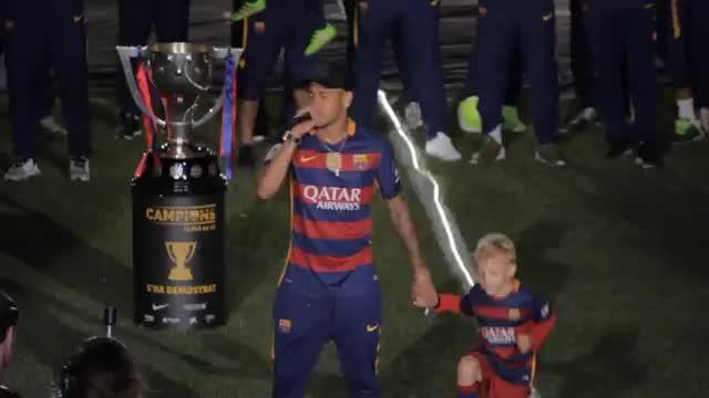 """Abschied? Neymar: """"Sehr glücklich bei Barca"""""""