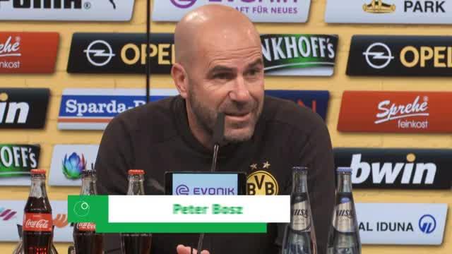 Bosz über HSV und seine Erwartungen an den BVB