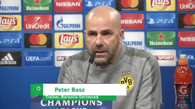 "Bosz vor Tottenham: ""Sehe es als Chance"""