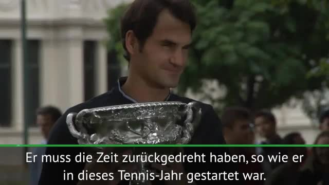 Hewitt: Federer hat die Zeit zurückgedreht