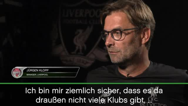 Klopp: Reds-Spieler lieben den FC Liverpool