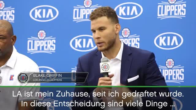 "Griffin bleibt bei den Clippers: ""No-Brainer"""