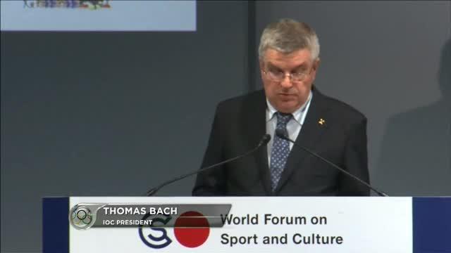 """Tokio 2020: Bach: """"Wirtschaft abhängig"""""""