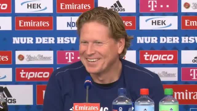 FCB-HSV ein Spitzenspiel? Gisdol kann nur lachen...