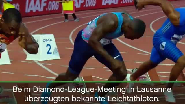 Diamond League: Gatlin und van Niekerk rocken