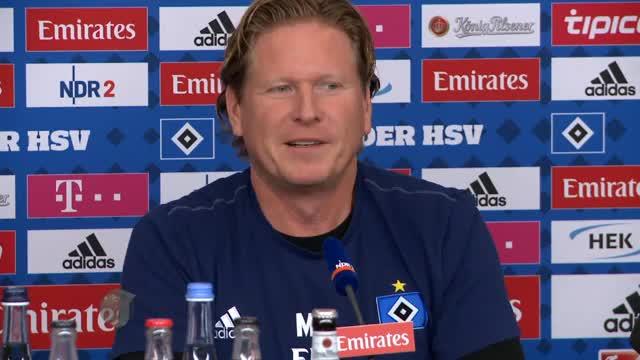 """Gisdol vor Werder: """"Befreit Aufspielen? Nein!"""""""