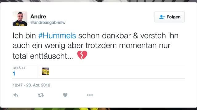 """Hummels-Abschied im Netz: """"Nicht mehr tragbar"""""""