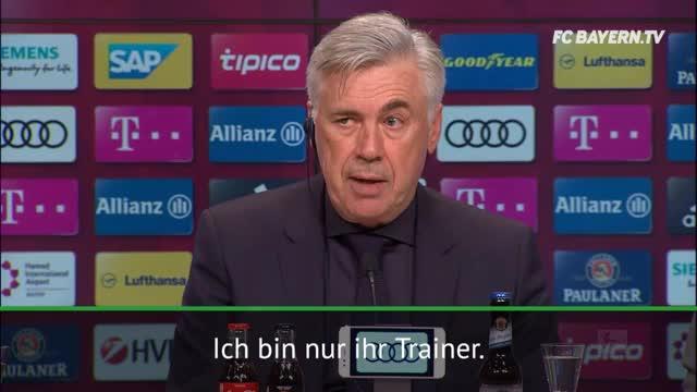 """Alkoholverbot? Ancelotti: """"Bin nicht ihr Vater"""""""