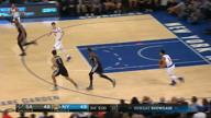 Historischer Carmelo knackt die Spurs