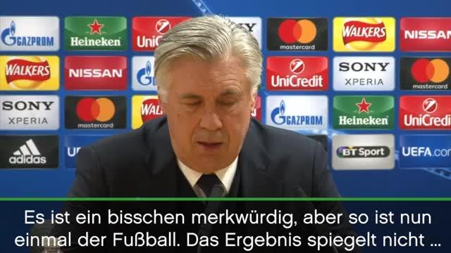 Ancelotti über den FC Arsenal, Wenger und Druck