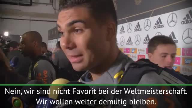 Casemiro: Deutschland WM-Favorit
