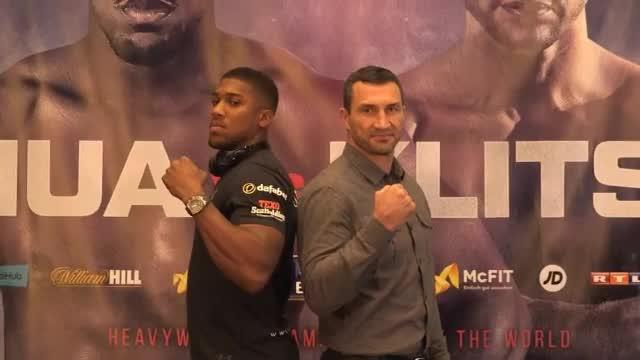 "Klitschko vor Joshua-Fight: ""Größter Kampf"""