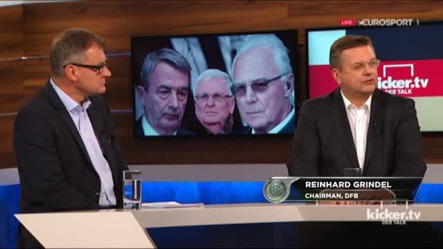 Grindel über Beckenabuer und die WM-Affaire