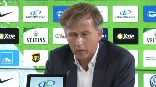 Jonker über VfL, Ljungberg und ein Problem