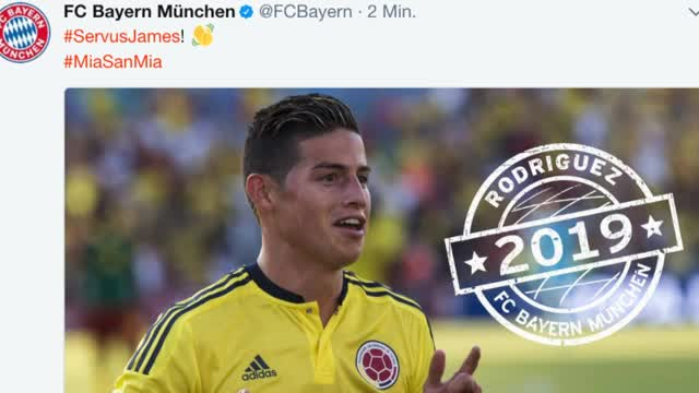 Granaten-Transfer! Bayern holt James Rodríguez