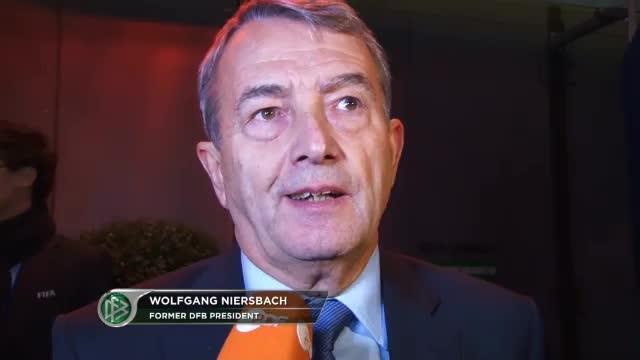 "FIFA: Niersbach: Infantino ""hat's drauf"""