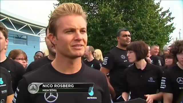 """F1: Rosberg: Hamilton? """"Immer harter Kampf"""""""