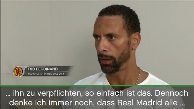 """Ferdinand: Ronaldo-Rückkehr """"wäre ein Märchen"""""""