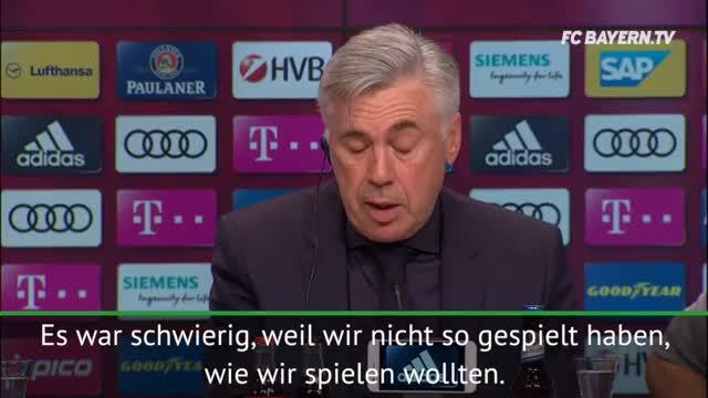 """Ancelotti: """"Wolfsburg hat besser gespielt"""""""