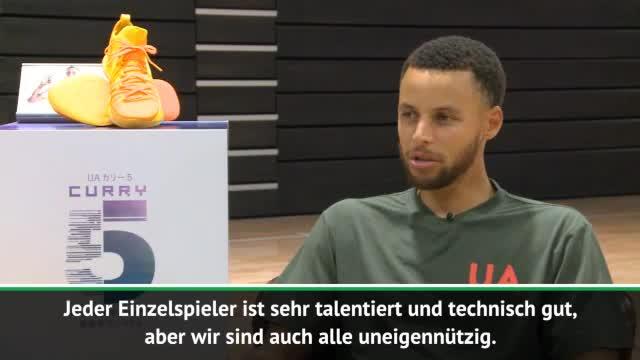 Curry: Jedes Team will das, was wir haben